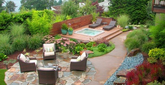 backyard makeover in Phoenix